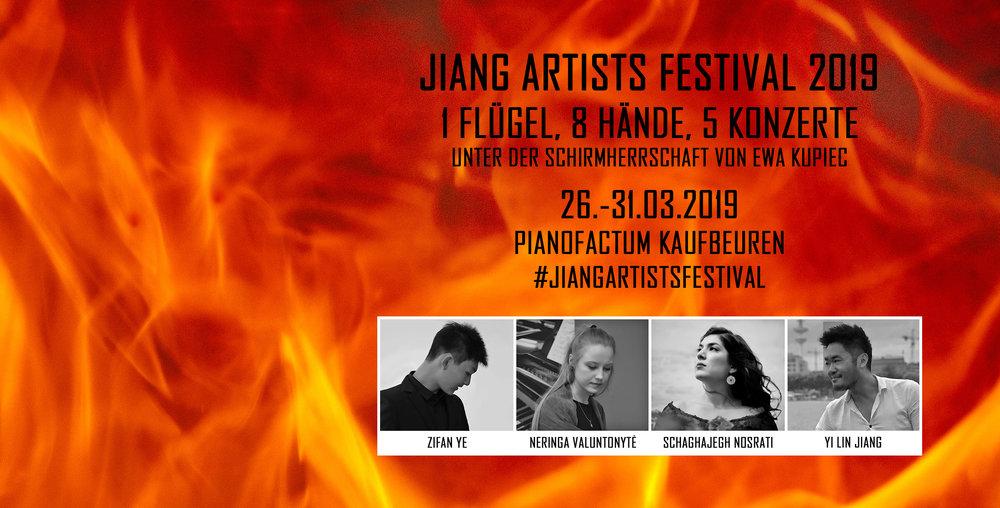 Flyer Jiang Artist Festival 2019